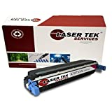 Laser Tek Services® HP C9733A (645A) Magenta Compatible Replacement Toner Cartridge for use in the HP Color LaserJet 5500, 5500dn, 5500dtn, 5500hdn, 5500n, 5550, 5550dn, 5550dtn, 5550hdn, 5550n