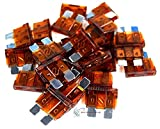 Tools & Hardware : 25 pack 7.5 Amp ATC Fuse Blade Style Scosche 7.5A Automotive Car Truck