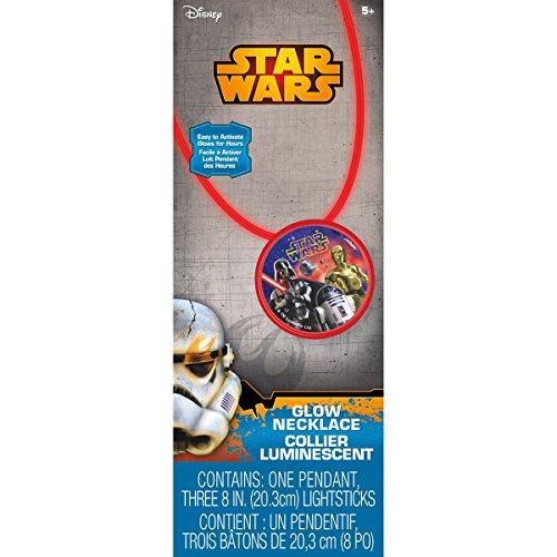 Star Wars Glow Necklace (Goldilocks Halloween)