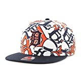 MLB Detroit Tigers Bravado Captain Adjustable Snapback Hat, One Size, White