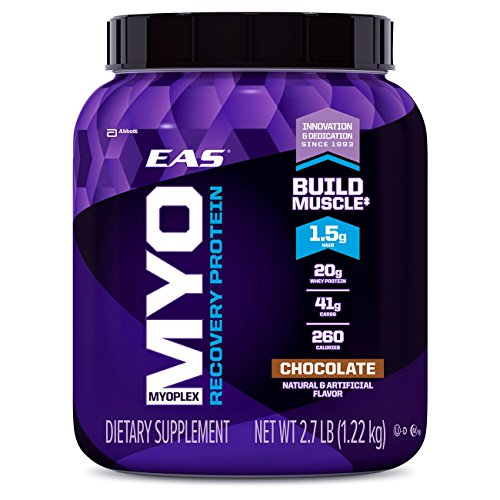 EAS Myoplex Recovery Protein Powder, Chocolate, 2.7 Pound