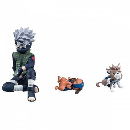Naruto G.E.M. Series PVC Figura Kakashi & Ninken Ninja Dog ...