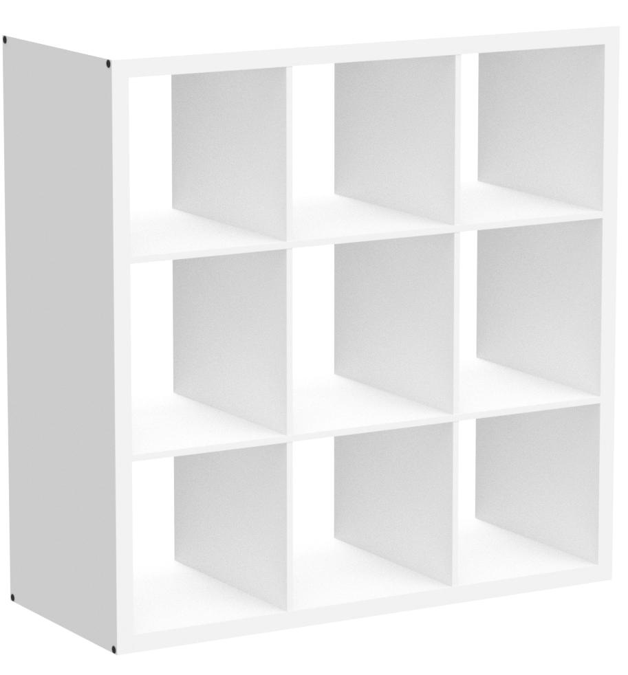 IKEA Kallax 004.155.99 - Estantería (3 x 3 cm), color blanco