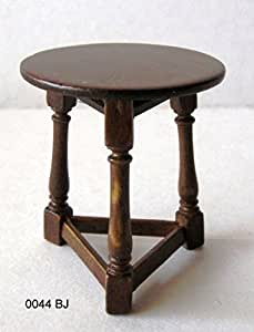 Amazon Com Dollhouse Miniature Three Legged Stool