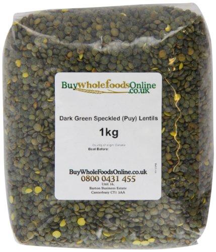 Buy Whole Foods Dark Green Speckled Puy Lentils 1 Kg