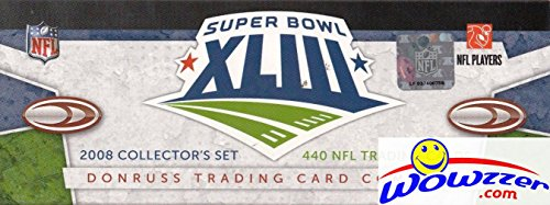 2008 Score NFL Football MASSIVE EXCLUSIVE 440 Card Super Bowl 43 Factory Set! Only 5,000 Sets Made! Includes MATT RYAN ROOKIE,Tom Brady, Peyton Manning, Brett Favre & 110 Rookie Cards! Loaded!