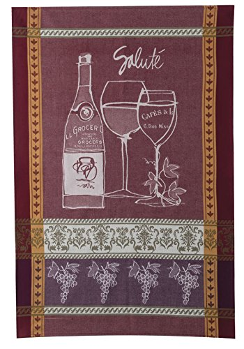 Kay Dee Designs R2948 Wine Not Jacquard Tea - Wine Designs Kay Dee