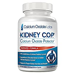 New PATENTED Breakthrough KIDNEY FORMULA - 99% REDUCTION of CALCIUM OXALATE STONE Crystals** It is FIVE times stronger than Chanca Piedra or Stone Breaker supplements. Kidney COP was developed by a stone sufferer, medical doctor, pharmacist and pharm...
