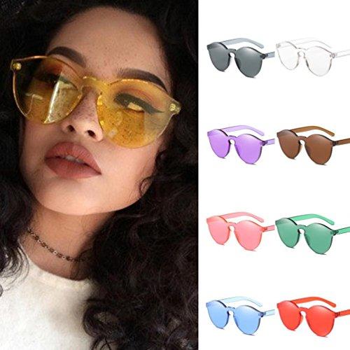 color de UV Gafas ojo Gafas caramelo color caramelo de gato Gafas Rawdah integrado sol de de Negro de de moda qZnOdU0w