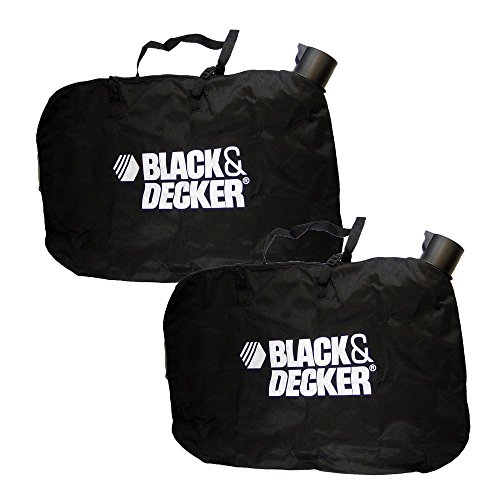 Black & Decker Leaf Blower/Vacuum Replacement (2 Pack) Shoulder Bag # 90560020-2pk
