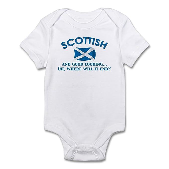 554199afc Amazon.com  CafePress Good Lkg Scottish 2 Cute Infant Bodysuit Baby ...