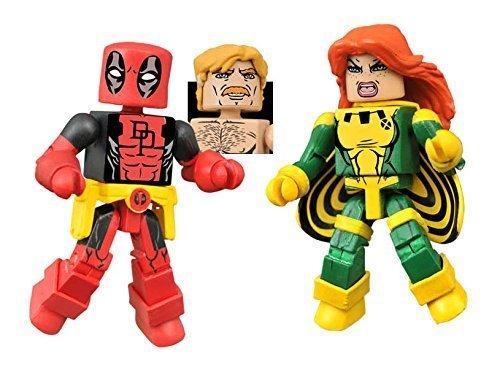 Minimates Series 65 - Secret Wars Deadpool & X-Force Siryn -