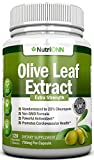 Olive Leaf Extract – 750 Mg – 120 Capsules – Extra Strength – 20% Oleuropein – Non-GMO Formula – Highest Quality From Pure Olive Leaves – Powerful Antioxidant – Great for Heart, Skin and Immune System