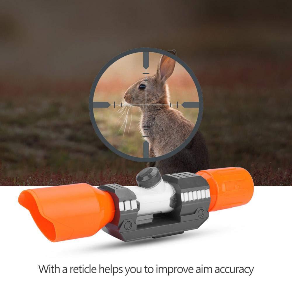 FTVOGUE Accesorio de Vista de Alcance de pl/ástico con Accesorio reticular para Nerf Modificar Juguete
