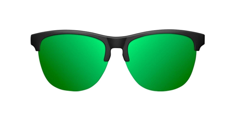 Northweek Gravity Venice - Gafas de Sol para Hombres y Mujeres, Policarbonadas, Negro/Verde: Amazon.es: Ropa y accesorios