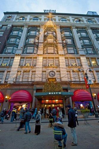 Macy's Department Store, Manhattan, New York City, New York, USA Giclee Art Print Poster or - Store York Macys New City