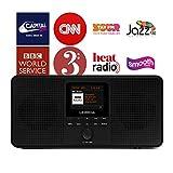 LEMEGA IR4 Stereo Portable Internet Radio,FM