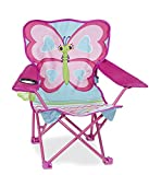 Melissa & Doug 16693 Sunny Patch Cutie Pie Butterfly Folding Lawn and Camping Chair