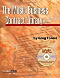 img - for Music Business Contract Library (Hal Leonard Music Pro Guides) by Greg Forest (2008-10-01) book / textbook / text book