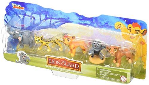 La Guardia del León Juguete Paquete de 5 Figurines, 2.5'