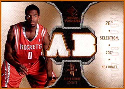 2007-08 SP Rookie Threads Rookie Threads #RTAB Aaron Brooks HOUSTON ROCKETS JERSEYS