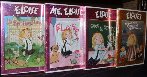 Eloise DVD Collection (Eloise In Springtime; Eloise Goes to School; Me, Eloise; Eloise's Rawther Unusual Halloween) -