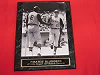 Roberto Clemente Willie Stargell Pirates Collector Plaque w/RARE 8x10 Photo!