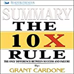 Summary of The 10X Rule: The Only Difference Between Success and Failure | Readtrepreneur Publishing