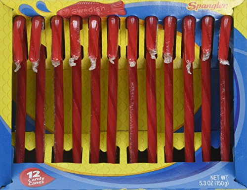 Swedish Fish Candy Canes 12 Pack
