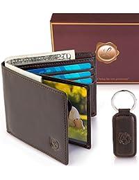 Genuine Leather Wallets Minimalist Keychain Basic Facts