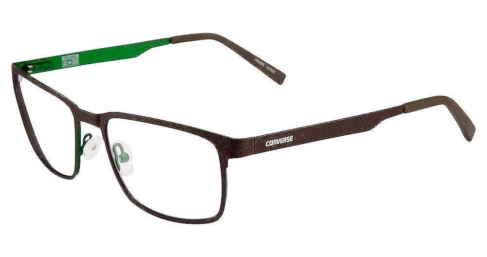 4602565f507 Amazon.com  Eyeglasses Converse Q100 Brown  Clothing
