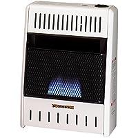 ProCom ML060HBA Liquid Propane Flame Space Heater Wall, 6000 Btu, Blue