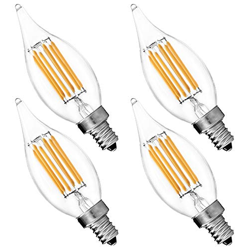 Luxrite Lr21250 2 Pack 4w Led Filament Candelabra Bulb: Buffalo Bills Ceiling Fans Price Compare