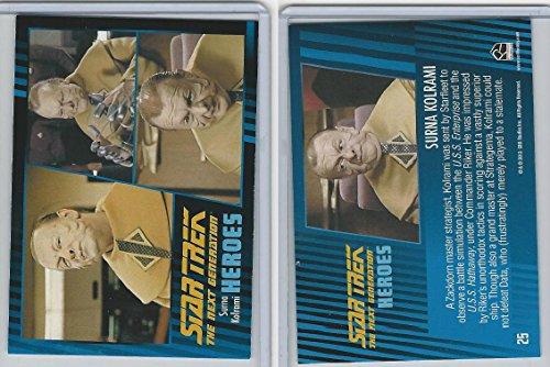 2013 Rittenhouse  Star Trek Next Generation H V  25 Surna Kolrami