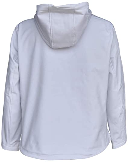 ec5426bf42b3d Pulse Womens Extended Plus Size Soft Shell Hooded Jacket 2226-X-1-NW