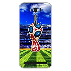 ColorKing Asus Zenfone 2 Laser ZE550KL Football Multicolor Case shell cover - Fifa Cup 09