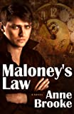 Maloney's Law by Anne Brooke front cover