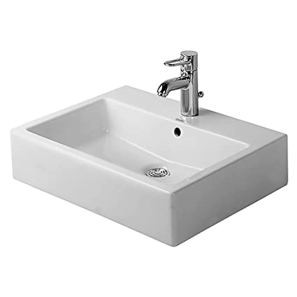 E Duravit 04546000001 Vero Washbasin With Tap Platform White