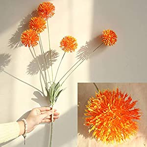 ESHOO Artificial Allium Flowers for Wedding Bouquet Home Party Decor 31