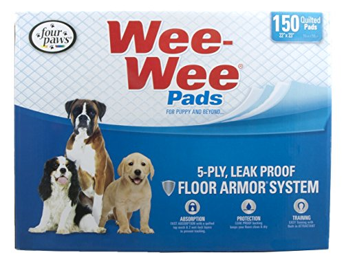 Four Paws Wee-Wee Puppy Housebreaking Pads 150-Pack