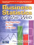 img - for Business Statistics on the Web: Find Them Fast At Little or No Cost book / textbook / text book