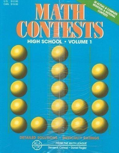 Math Contests: High School, Volume 1: School years 1977-78 & -1981-82