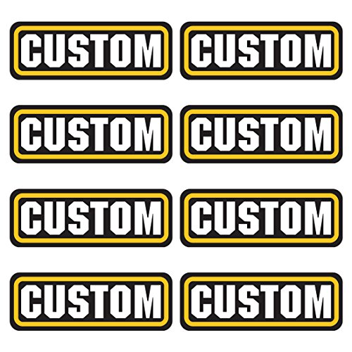 Review CUSTOM ammo stickers 8 PACK – LAMINATED Personalized Can Box Vinyl Decal bullet ARMY Gun safety Hunting label