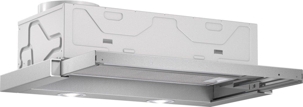 Bosch DFL063W50 Serie 2 Flachschirmhaube / 59, 8 cm/Wippenschalter / silbermetallic [Energieklasse C]