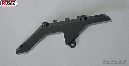 SSD RC Diamond Front Axle Upper Link Mount Black