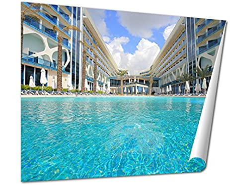 Ashley Giclee Outdoor Swimming Pool Antalya At The Resort Wall Art Poster Print