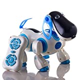 walking and talking robot - Durherm Smart Storytelling Robot Dog, Sing Dance Walking Talking Dialogue Cute Pet Toy With Infrared Remote Control