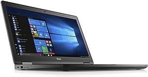 Dell Latitude 15-5580 Intel Core i5-7300U X2 2.6GHz 8GB 128GB SSD,Black(Certified Refurbished)