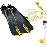 Cressi PALAU SAF SET, Adult Snorkeling Set with Carry Bag - Cressi: Italian Quality Since 1946