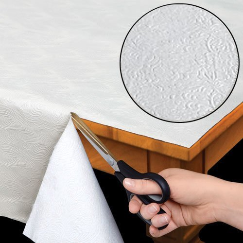 Quilted Heavy Duty Table Pad Protector With Flannel Backing - Cut To Fit - 52